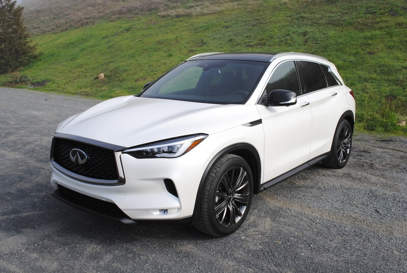 See the body of the 2020 INFINITI QX50