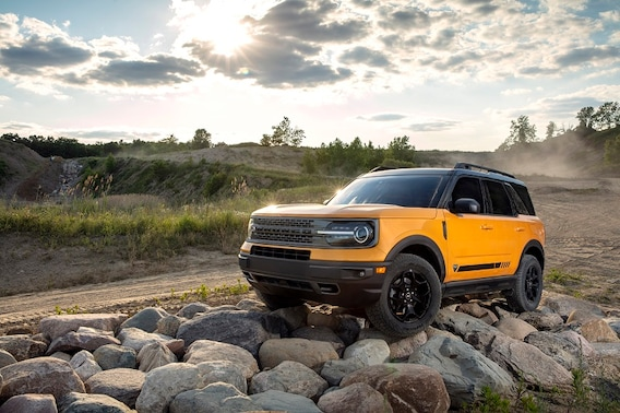 Exterior view of the 2021 Ford Bronco Sport