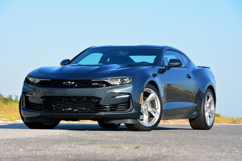 Image of a 2020 Chevrolet Camaro SS