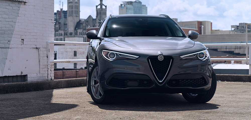 Front view of  2018 Alfa Romeo Stelvio