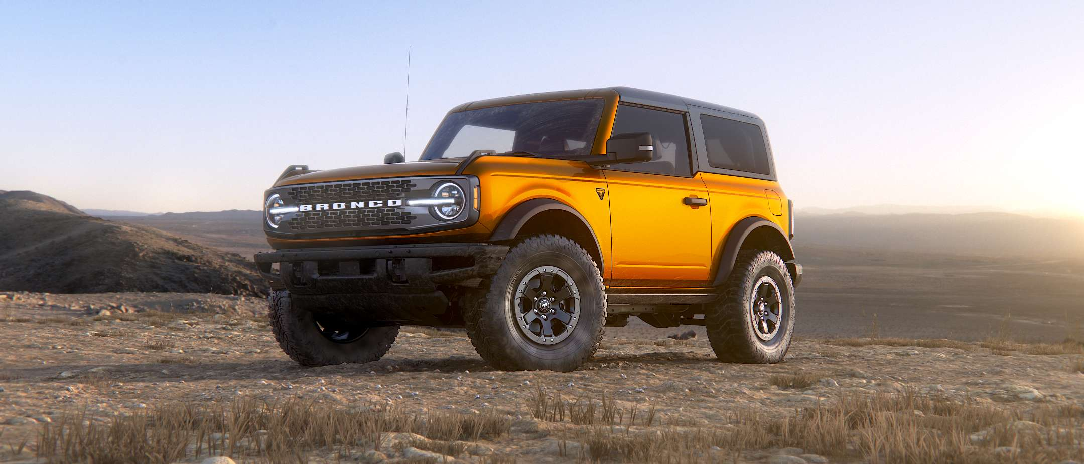 2021 Ford Bronco exterior colors