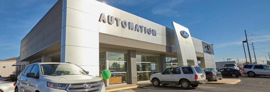 Exterior view of AutoNation Ford Auburn