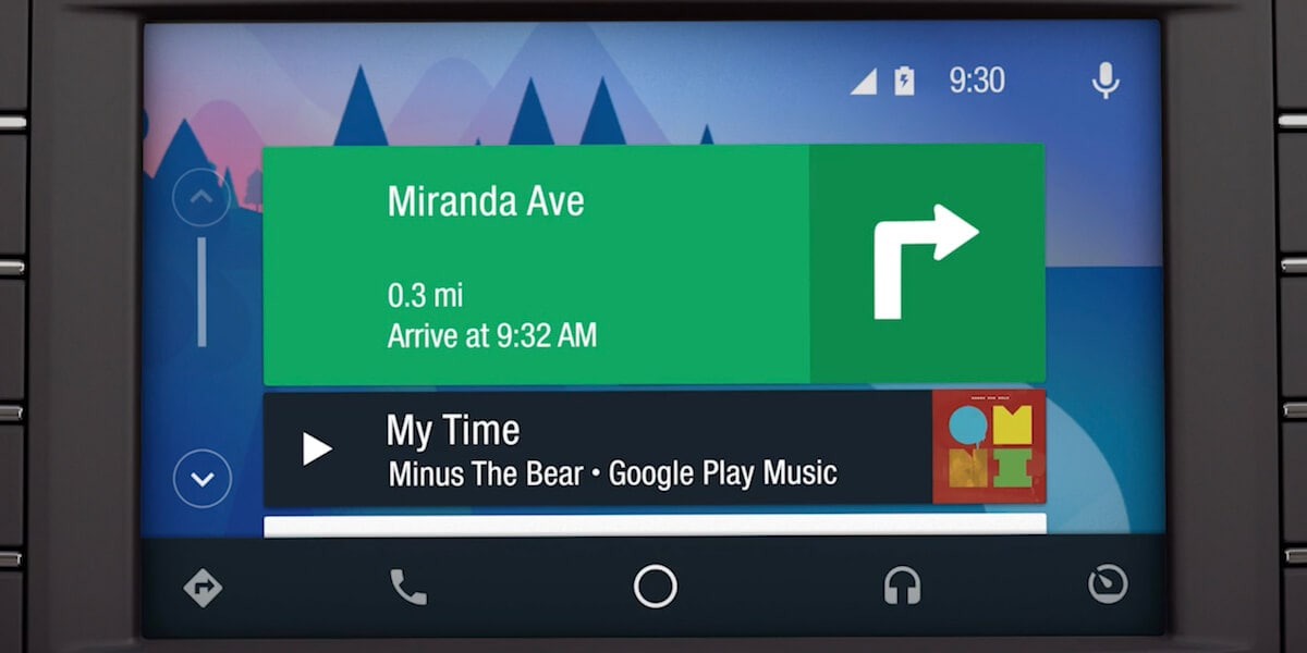 Android Auto display on new Lincoln SYNC system