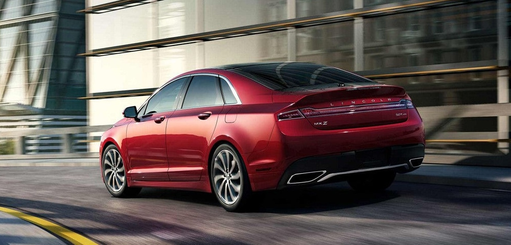 Rear view of 2018 Lincoln MKZ