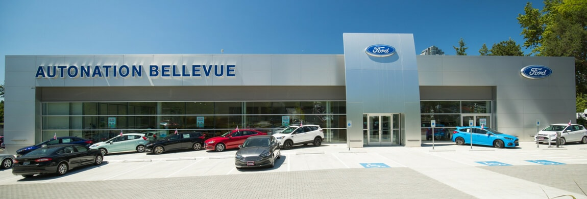 Exterior view of AutoNation Ford Bellevue