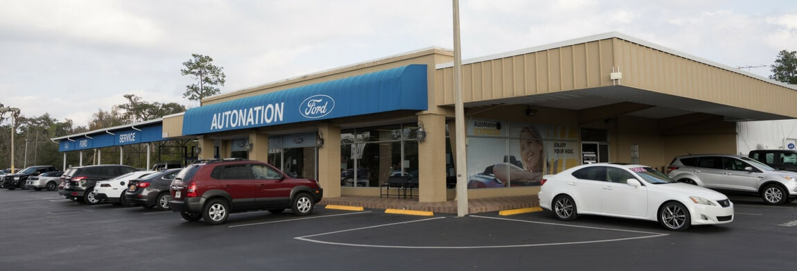 Exterior view of AutoNation Ford Brooksville