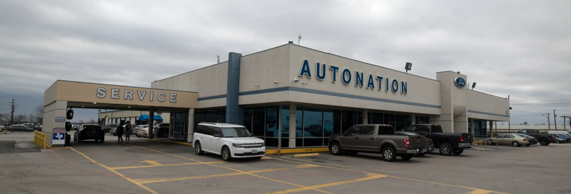 Exterior view of AutoNation Ford Burleson