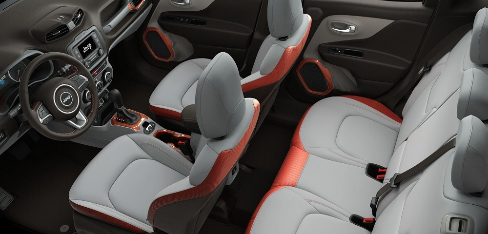 2017 Jeep Renegade Interior