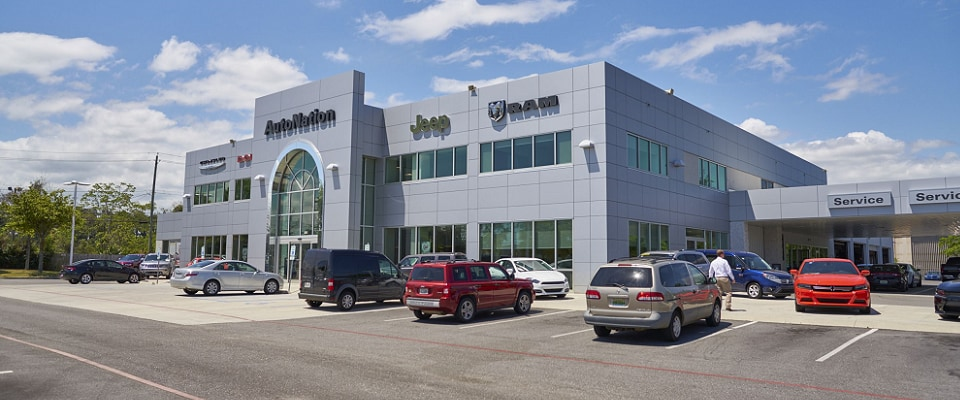 Outside view of Autonation Chrysler Dodge Jeep Ram Mobile