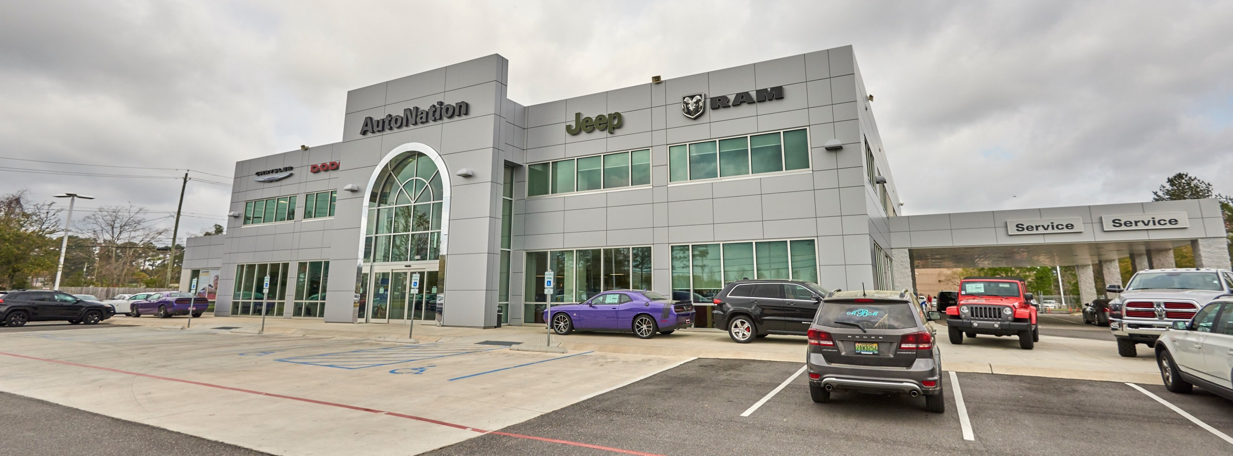 About AutoNation Chrysler Dodge Jeep RAM Mobile