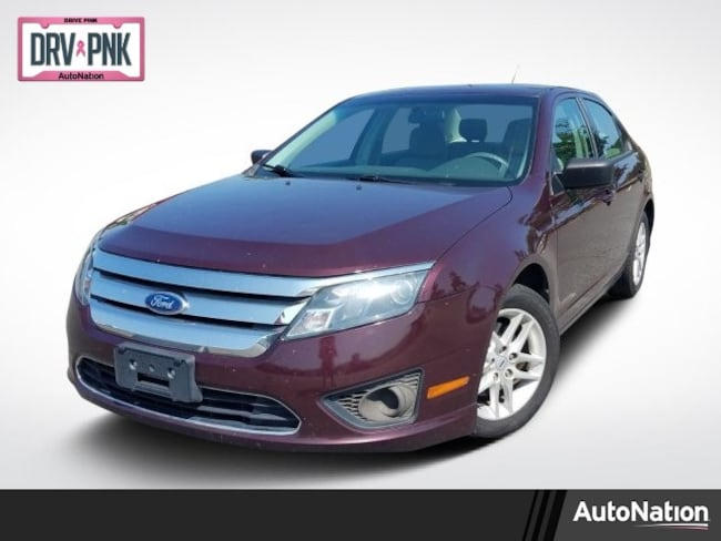 2011 Ford Fusion S 4dr Car