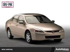 2003 Honda Accord Sedan EX 4dr Car