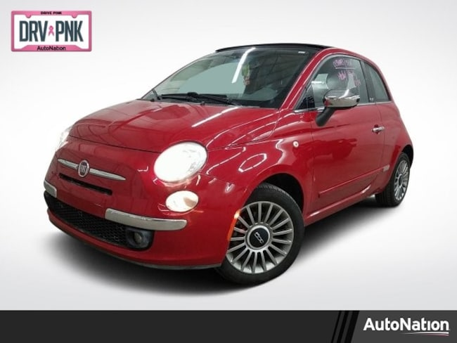 2012 FIAT 500 Lounge 2dr Car