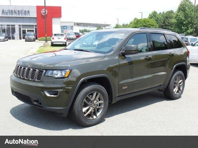 new 2016 jeep grand cherokee 75th anniversary for sale columbus ga. Black Bedroom Furniture Sets. Home Design Ideas