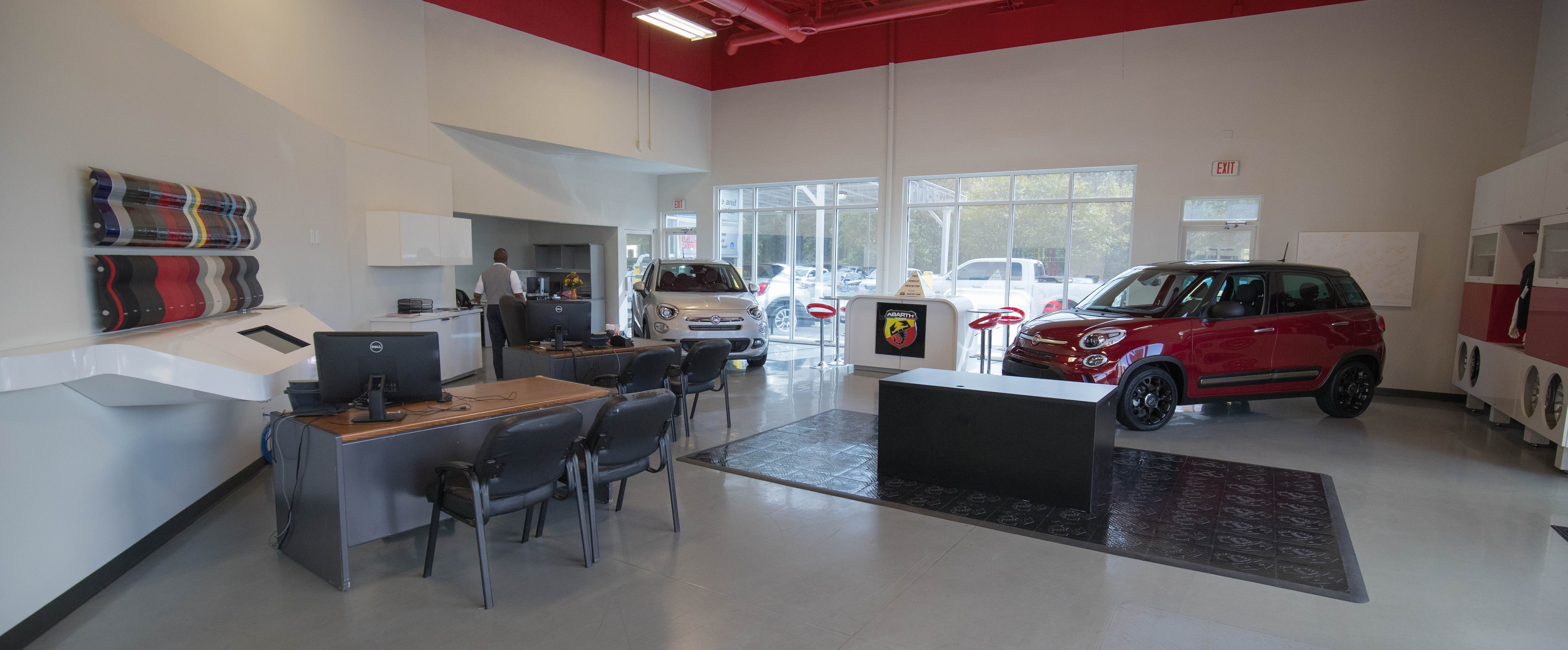 Interior View of Chrysler Dodge Jeep RAM FIAT near Bibb City