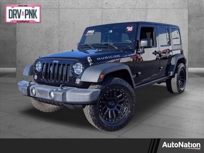 2016 Jeep Wrangler Unlimited Rubicon Sport Utility