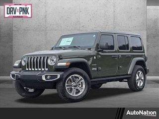 New 2021 Jeep Wrangler Unlimited Sahara SUV for sale nationwide