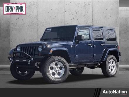 2013 Jeep Wrangler Unlimited Sahara Sport Utility