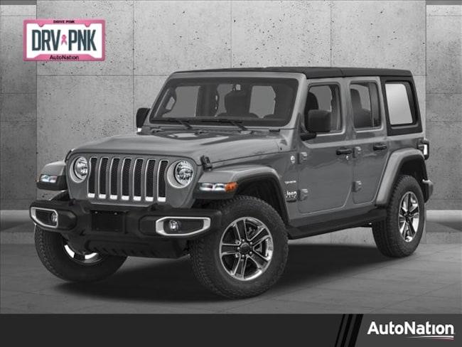 2021 Jeep Wrangler UNLIMITED SAHARA 4X4 SUV