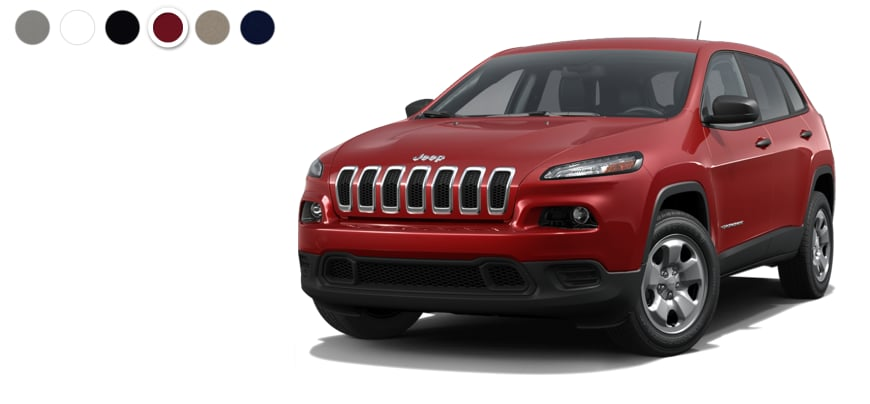 Autonation North Phoenix >> 2016 Jeep Cherokee Color Options | AutoNation Chrysler ...