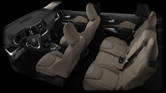 Jeep Cherokee Interior >> 2016 Jeep Cherokee Interior Options Autonation Chrysler