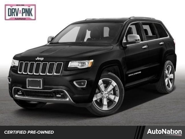 2016 Jeep Grand Cherokee High Altitude Sport Utility