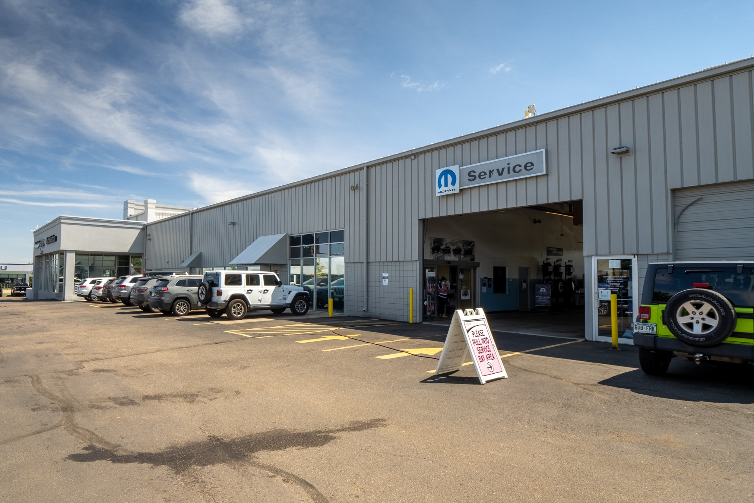 Autonation Chrysler Jeep Arapahoe Service Center