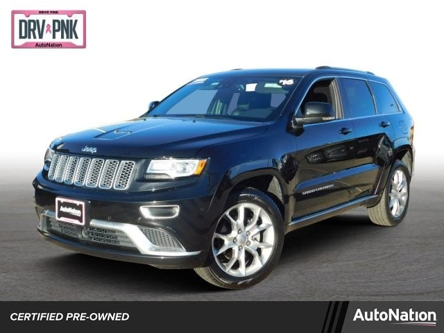 2016 Jeep Grand Cherokee Summit Sport Utility