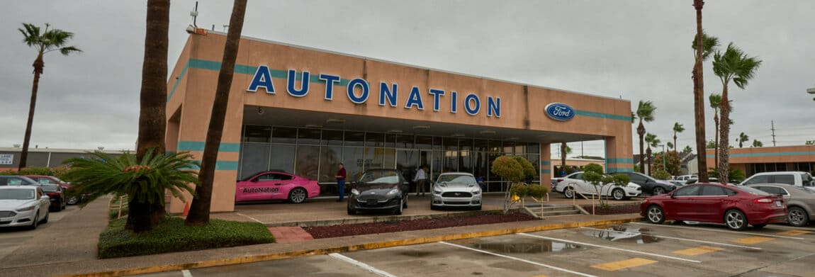 Exterior view of AutoNation Ford Corpus Christi