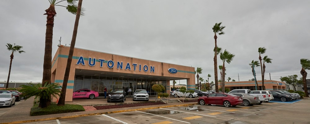 Outside view of AutoNation Ford Corpus Christi