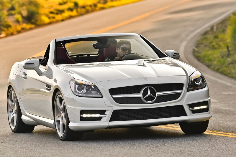 The Mercedes-Benz SLK is an amazing luxury roadster