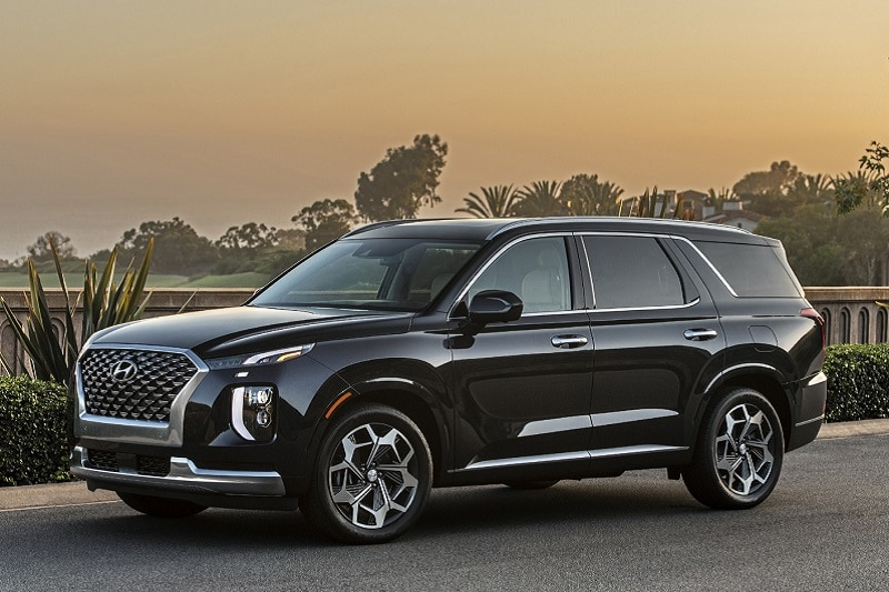 Exterior view of the Hyundai Palisade