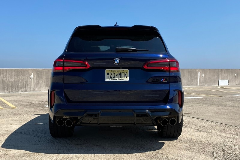 See the safety features of the 2020 BMW X5 M Competition