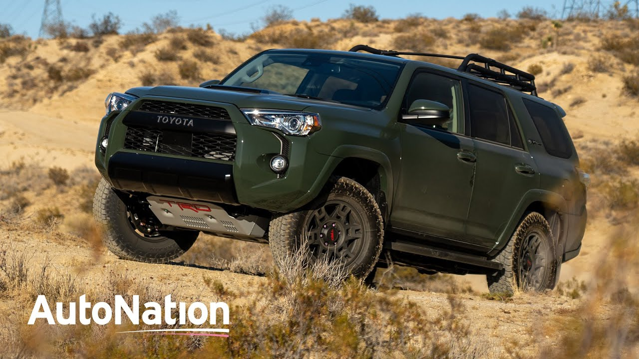 Image composition of the 2020 Toyota 4Runner