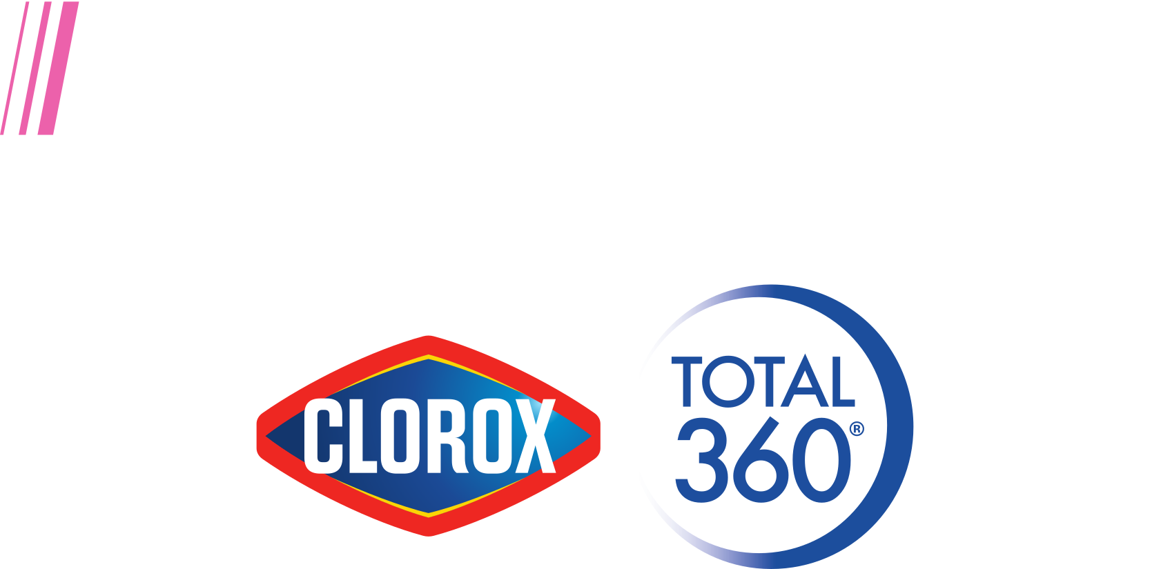 PrecisionCare powered by Clorox<sup>®</sup> Total 360<sup>®</sup> logo