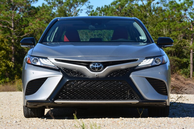 The Camry XSE looks bold and aggressive