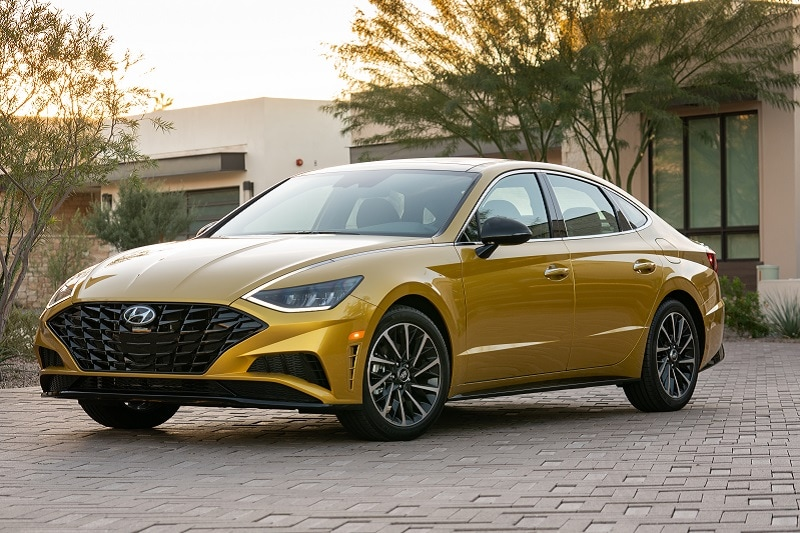 The Hyundai Sonata has been completely redesigned for the 2020 model year, and it is striking.