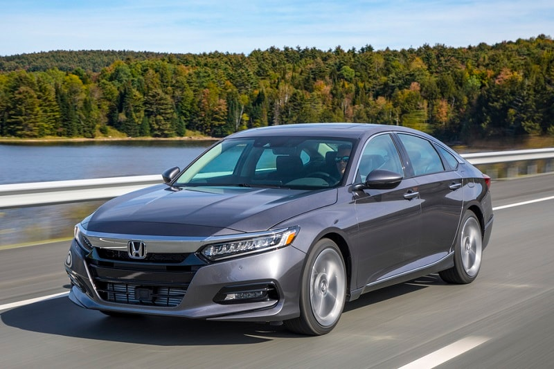 Exterior view of the Honda Accord