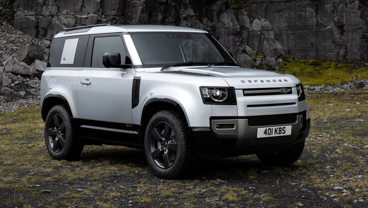 See the body of the 2020 Land Rover Defender