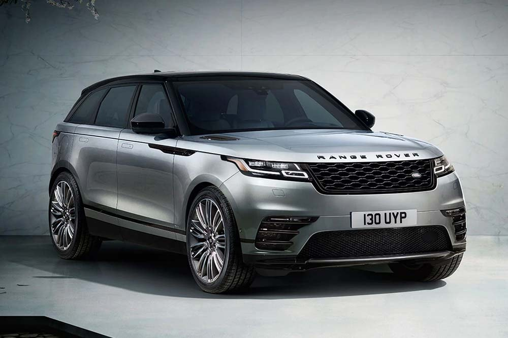See the exterior of the 2020 Range Rover Velar SVAD