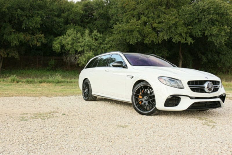 Exterior view of the 2019 Mercedes-AMG E 63 S Wagon