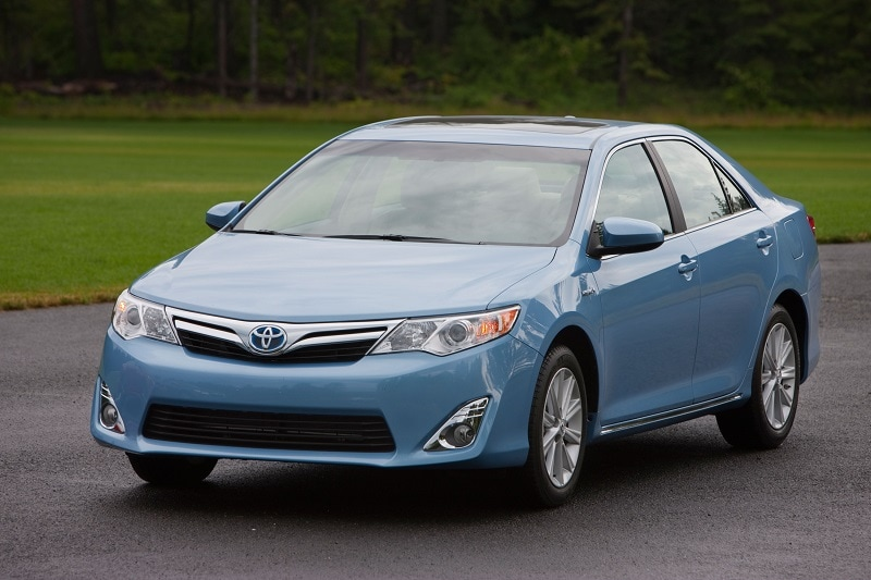The Toyota Camry Hybrid is a great used car buy