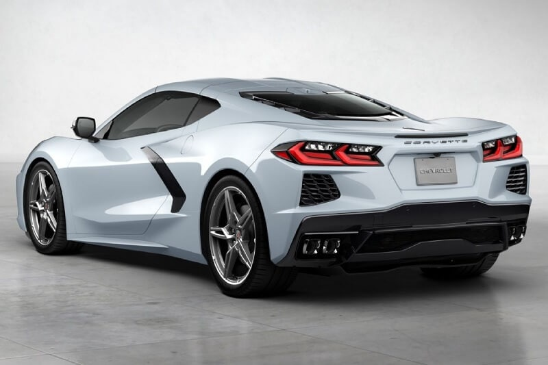 The 2020 Corvette in Ceramic Matrix Gray Metallic