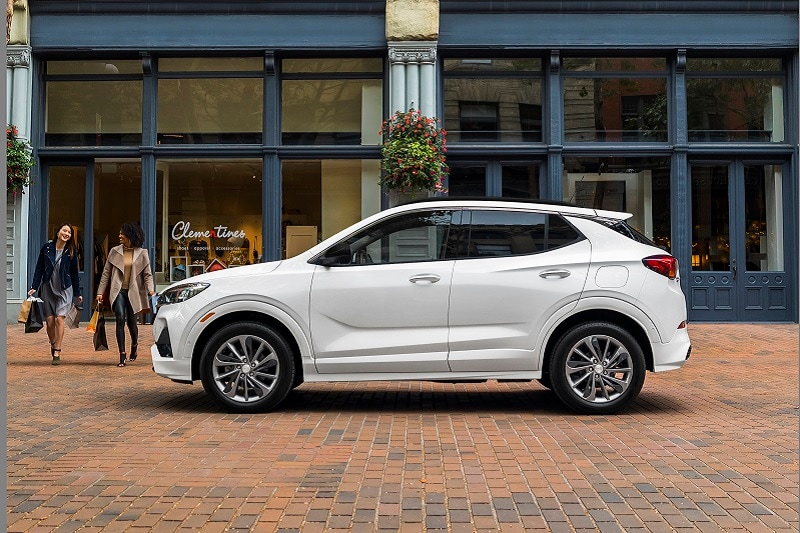 See the exterior of the 2020 Buick Encore GX