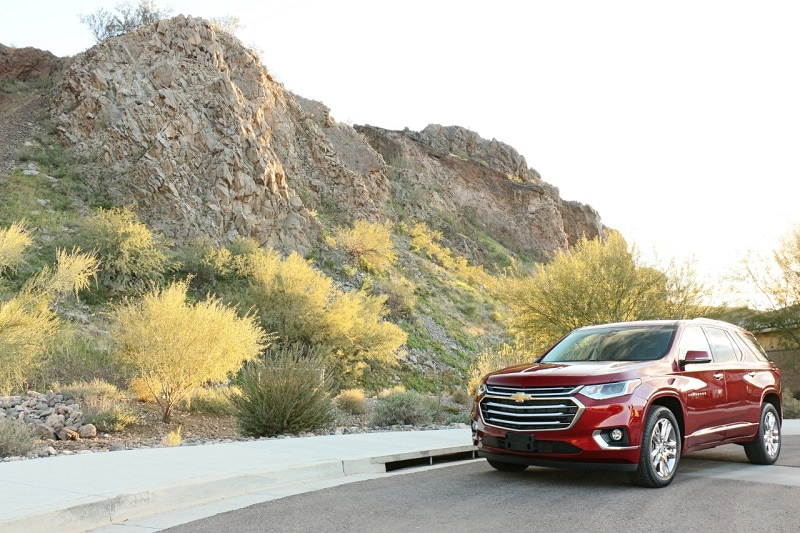 Image of a 2020 Chevrolet Traverse High Country