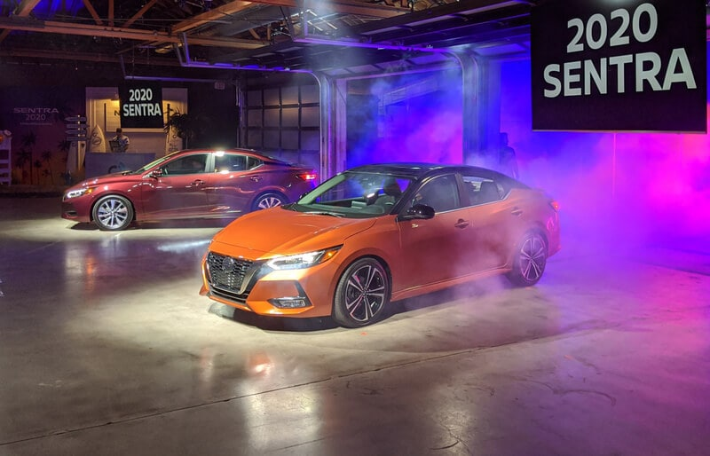 The 2020 Sentra looks like a mini Maxima. That's a good thing.