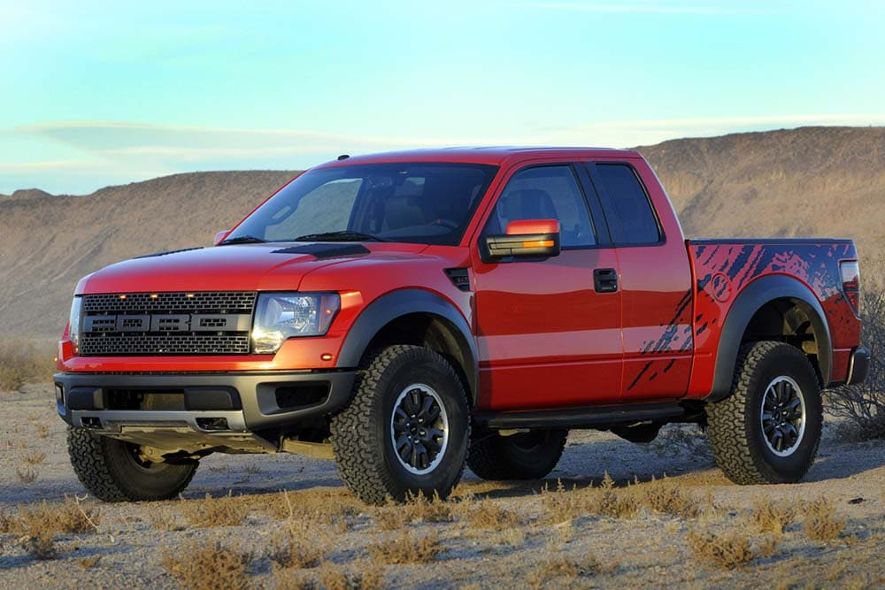 Read an article about the Ford F-150 Raptor