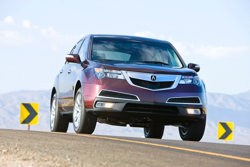 The Acura MDX is a great used car buy