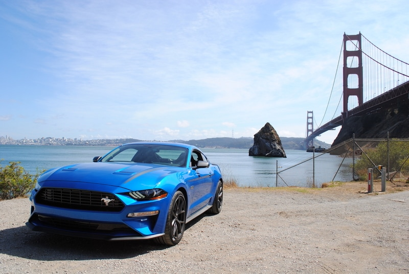 See the body of the 2020 Ford Mustang EcoBoost HPP