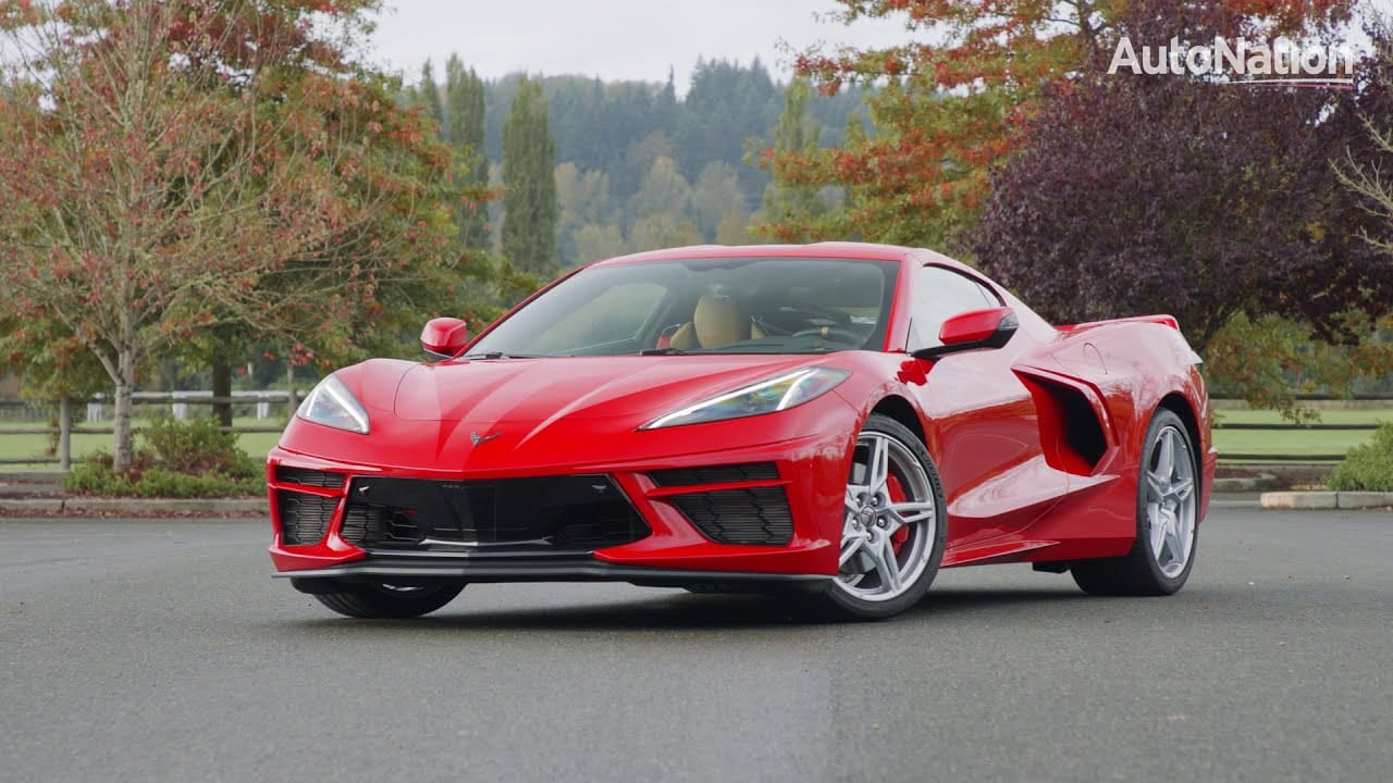 Image composition of the 2020 Chevrolet Corvette C8